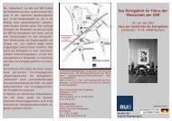 Flyer - Haus der Geschichte des Ruhrgebiets - Ruhr-Universität ...