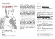 Programm - Haus der Geschichte des Ruhrgebiets - Ruhr ...