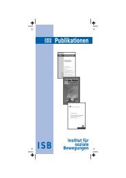 Publikationen 2005/2006 - Institut für soziale Bewegungen - Ruhr ...