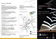 Tagungsprogramm - Haus der Geschichte des Ruhrgebiets - Ruhr ...