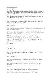 Conference programme: Thursday, 6 September: 14.00 Stefan ...