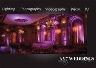 PDF Pricing Guide - AV7 Weddings