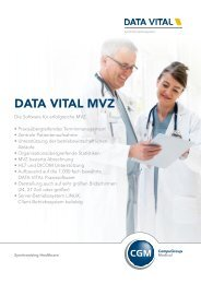 DV MVZ (PDF) - Data Vital