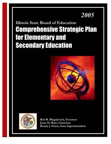 Comprehensive Strategic Plan - Illinois State Board of Education
