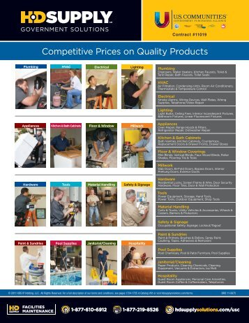 HD SUPPLY - Government Solutions: Competitive Prices on Quality ...