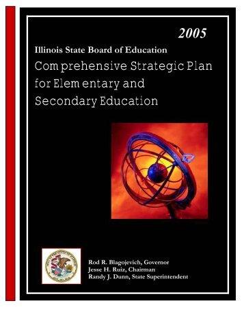 Comprehensive Strategic Plan - Illinois State Board of Education