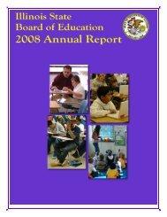 Illinois State Board of Education 2008 Annual Report