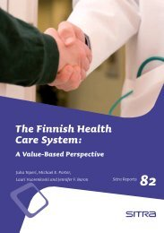 The Finnish Health Care System - Institute for Strategy and ...