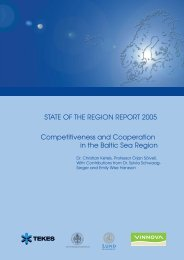 Competitiveness and Cooperation in the Baltic Sea Region