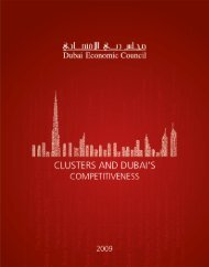 Clusters and Dubai's Competitiveness - Institute for Strategy and ...