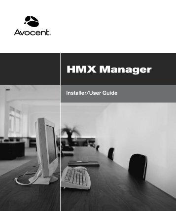 HMX Manager Installer/User Guide - Daxten