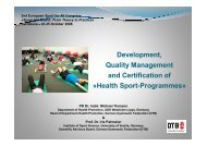 Development, Quality Management and Certification of ... - ISCA