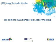 ISCA Europe Top Leader Meeting