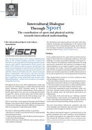 Intercultural Dialogue Through Sport - EU-CoE youth partnership