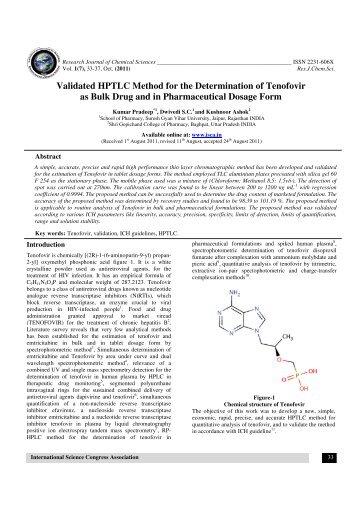 JOURNAL OF PHARMACEUTICAL CHEMISTRY