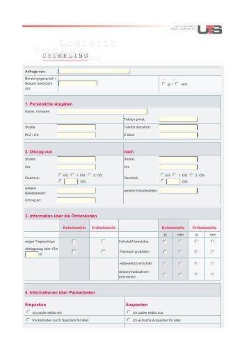 Kontaktprotokoll - Deuerling