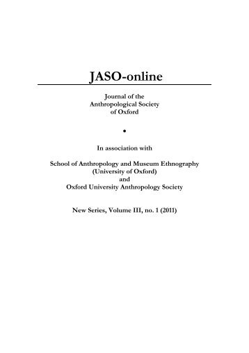 Download entire issue as single file - Institute of Social and Cultural ...