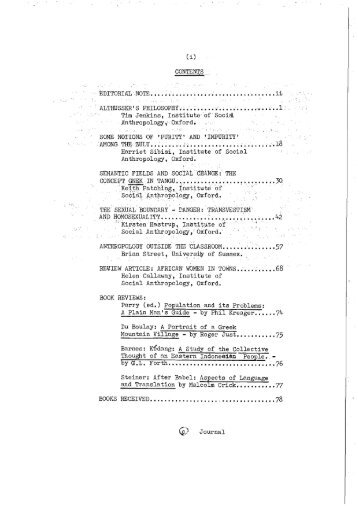 Download searchable PDF file of Volume 6 1975 - Institute of Social ...