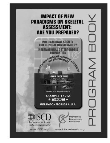 Program Book and Abstracts - ISCD