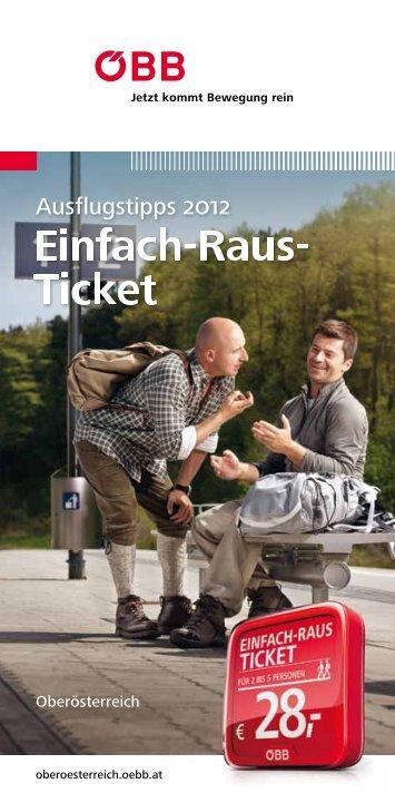 Einfach-Raus- Ticket - Österreichische Bundesbahnen ÖBB