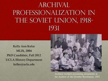 Presentation slides - PDF - School of Information