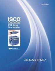 2100 Series Flow Modules - Isco