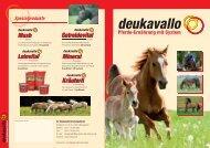 deukavallo - deuka Deutsche Tiernahrung Gmbh & Co. KG