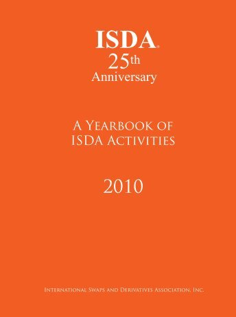 YB pgs 1-22 0407.indd - ISDA - International Swaps and Derivatives ...