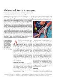 Abdominal Aortic Aneurysm - Isdbweb.org