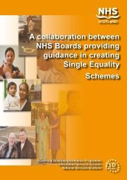 Single Equality Scheme Guidance - Information Services Division
