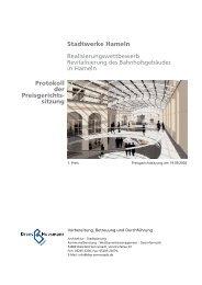 Protokoll der Preisgerichts sitzung Stadtwerke ... - Dhp-sennestadt.de