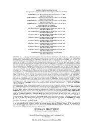 Southern Pacific Securities 06-1 plc - Irish Stock Exchange