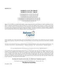 Wachovia Securities - Irish Stock Exchange