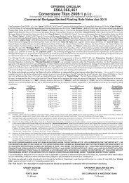 £564,266,461 Cornerstone Titan 2006-1 p.l.c. - Irish Stock Exchange