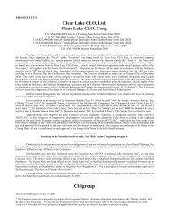Citigroup - Irish Stock Exchange