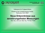 Neue Erkenntnisse aus zerstörungsfreien Messungen - Institut für ...