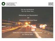 AkD - Institut für Straßen- und Eisenbahnwesen