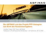 Wie ist die Sichtweise eines Konzessionsgebers in Österreich?