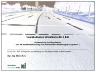 Consulting Praxisbezogene Umsetzung der E EMI - KIT