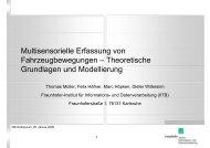Theoretische Grundlagen und Modellierung