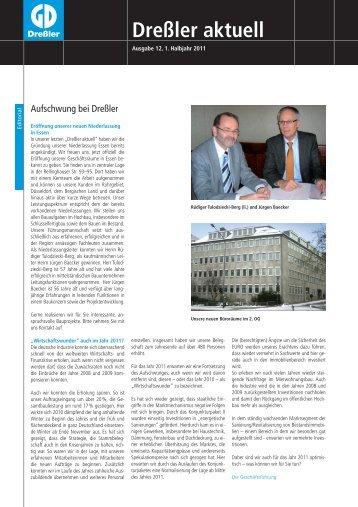 110049 Dressler NL 1 2011 rzprev - Dreßler-Bau