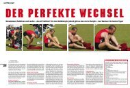 Der perfekte Wechsel - Fit for Life