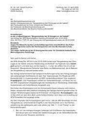 Anmerkungen zum SPD-Antrag