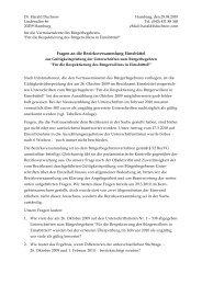 über 500 gültige Unterschriften fälschlich als ... - Isebek-Initiative