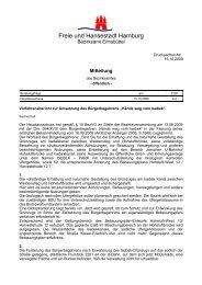 Verfahrensbericht zur Umsetzung des ... - Isebek-Initiative