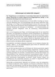 Abholzungen am Isebek-Ufer stoppen! - Isebek-Initiative