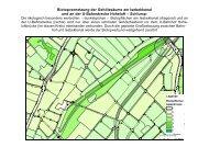 Durchgangskorridor im grünen Biotopverbund - Isebek-Initiative