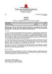 Bürgerbeteiligungsverfahren - Isebek-Initiative