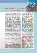 CEENR Information - Institute for Social and Economic Change - Page 3
