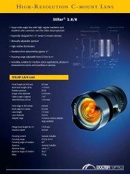Datenblatt Stilar 2.8 8 - Docter® Optics